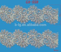Bailange long customized size pearl rhinestone trimmings GA-558, View customized size rhinestone trimmings, Bailange Product Details from Guangzhou City Haizhu Dist. Fengyang Bailange Clothing Ingredients Firm on Alibaba.com
