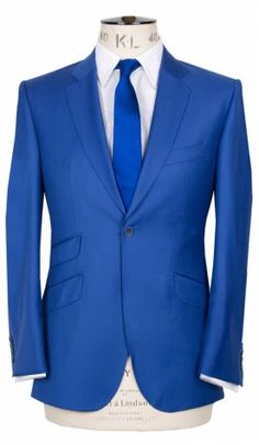 For the lovely man in your life - electric blue Marc Wallace suit