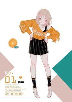 Chibi Kawaii, Loli Kawaii, Kawaii Anime Girl, Anime Art Girl, Manga Girl, Fanarts Anime, Manga Anime, Anime Outfits, Anime Style