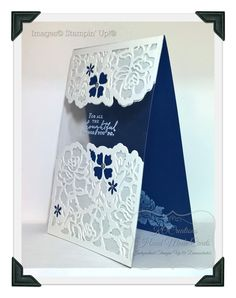 Card by Kim Oliver (061416) [Stampin' Up! (stamp and die bundle) Floral Phrases]