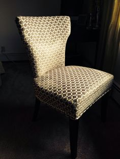 My new chair for my desk....love