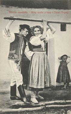 FOTO: Ako sa žilo na Slovensku pred 100 rokmi Folk Costume, Black Forest, Panama, Folk Art, Retro, Life, European Countries, Czech Republic, Poland