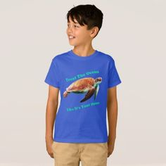#fishing - #Treat The Ocean Like It's Your Home T-Shirt
