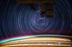 NASAの長時間露光10