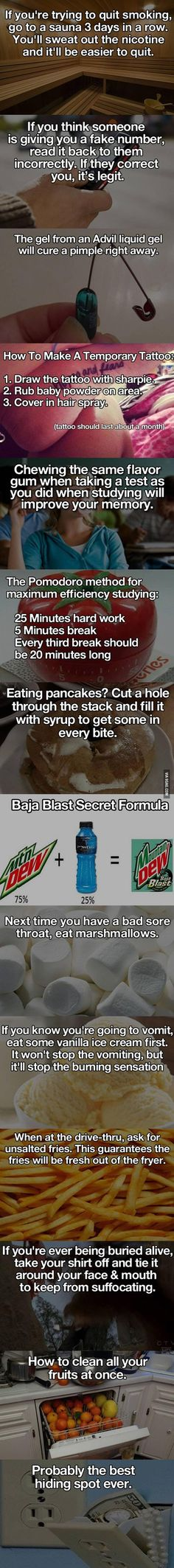 Some Interesting Life Hacks