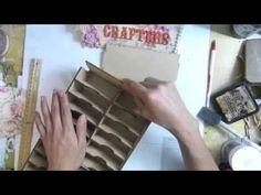 Distress ink pads storage&clocks shadow boxes (+playlist)