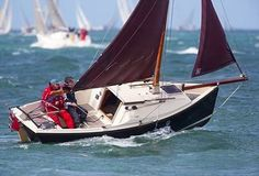 The Cornish Shrimper 19 'Magic' sailing in the Solent with a stiff breeze   by Colin K. Work !  #sunset #blue #downwind #sail #sails #sailor #sailing #sailors #sailaway #sailingaway #sailinggirls #sailinginstagram #sailboats #sailboat #cruise #race #sailworld #life #knots #love #regatta #sailkids #sea #sun #wind #feel #sunrise #choices #spinnakers #closehauled