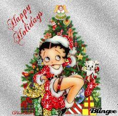 Christmas Christmas Pictures, Christmas Art, Xmas, Christmas Ornaments, Good Morning Christmas, Betty Boop Pictures, Good Morning Greetings, Christmas Wallpaper, Birthday Greetings