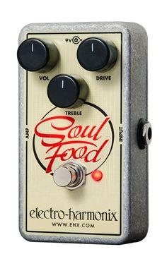Electro-Harmonix Soul Food Distortion/Fuzz/Overdrive Pedal
