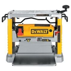 Dewalt Heavy-duty 12-1/2 Thickness Planer With Three Knife Cutter-head…