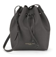 Dover Street Saffiano Leather Bucket Bag - Kenneth Cole to start the Fall Season.  Deviate a bit form the traditional Tote @waresthemore