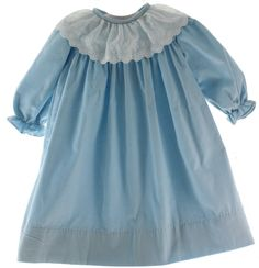 Hiccups Childrens Boutique - Girls Blue Corduroy Long Sleeve Float Dress with White Collar, $70.00 (http://www.hiccupschildrensboutique.com/girls-blue-corduroy-long-sleeve-float-dress-with-white-collar/)