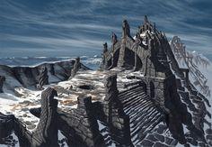 Skyrim, Concept Art-Nordic Temple Ruins