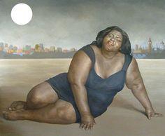 Dreigroschenoper, Gabby, Schauspielerin, Sidibe, Usa, Malerei