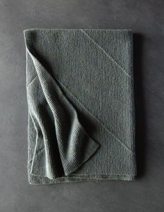 Ridgeline Baby Blanket- free pattern from Purl Soho