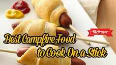Best Campfire Foods You Can Cook on a Stick #Prepping #Preppers #MsPrepper