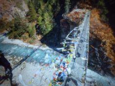 Most Edmunda Hillaryho v Himálajích