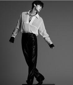 Album 5 > Minhyun < Nu Est, Leather Pants, Album, Instagram, Style, Idol, Bts, Fashion, Leather Jogger Pants