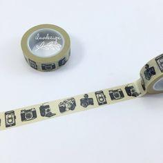 Vintage Camera Washi Tape