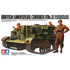 OHS Tamiya 35175 British Universal Carrier Mk II European Campaign Military Assembly AFV Model Building Kits Tamiya Model Kits, Tamiya Models, Model Building Kits, Building Toys, Plastic Model Kits, Plastic Models, Ww1 Tanks, Airfix Kits, Military Drawings