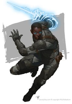 ArtStation - Iconic Character Templates - Savage Rifts, Aaron J Riley Fantasy Character Design, Character Design Inspiration, Character Concept, Character Art, Concept Art, Black Anime Characters, Superhero Characters, Sci Fi Characters, Character Template