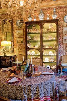 le somptueux appartement d'Isabelle et Hubert d'Ornano - Le blog de haute.decoration.over-blog.com
