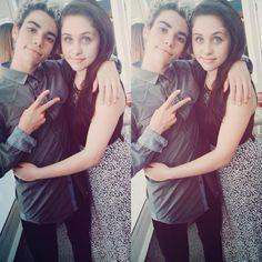 Cameron Boyce & Brenna D'Amico