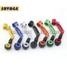 Motorcycle Accessories Colorful CNC Universal Fluid Reservoir Brake Clutch Master Cylinder Mount Bracket
