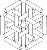 optical illusion 37 coloring page
