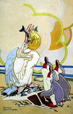 Pelican & Penguins - Harry Rountree
