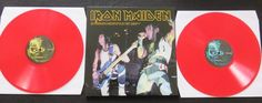 """Online veilinghuis Catawiki: Iron Maiden – Do Androids Dream Of Electric Sheep? * 2LP, limited edition on RED vinyl (150 copies only) -Newcastle """"City Hall"""" 25 October 1986-"""