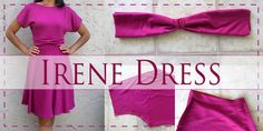 Irene Dress Sewing Pattern