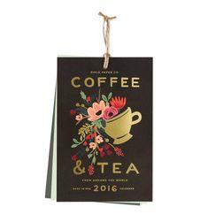 2016 Coffee & Tea Features 12 Original Illustrations