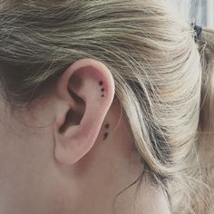 We've Reached Peak Minimalism With The Helix Tattoo Trend