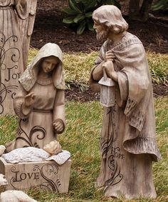 Love this Holy Family Nativity Statue Set on #zulily! #zulilyfinds