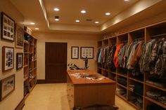 Man Cave Closet Hunting Cabin