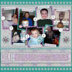 Layout created with Brrr Collection and Adventure 365 Templates.