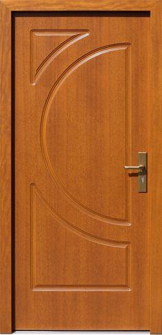 Drewniane wejściowe drzwi zewnętrzne do domu z katalogu modeli klasycznych wzór 589f