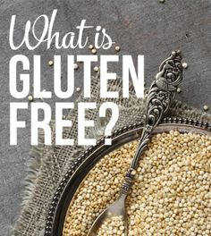 Thinking about going gluten free? Read this first.