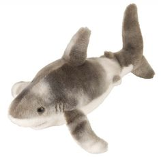 Cuddlekins Mini Great White Shark (10-inch) at theBIGzoo.com, an animal-themed superstore.
