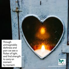 Through unimaginable darkness and pain we see a flicker of light, and find strength to carry on moment by moment.  Let Stress Heal Your Life by Gillian Padgett  #mood #wisdom #guidelines #stresswisdomsolutions #coaching #author #book #life #counseling #training #motivation #recharge #readinglist #nonfiction #instadaily #livethelittlethings #livecolorfully #innerpeace #loveyourself #productivity #certifiedlifecoach #dailyaffirmation #peace #quotes #love #stressrelief #peaceful #heart #light
