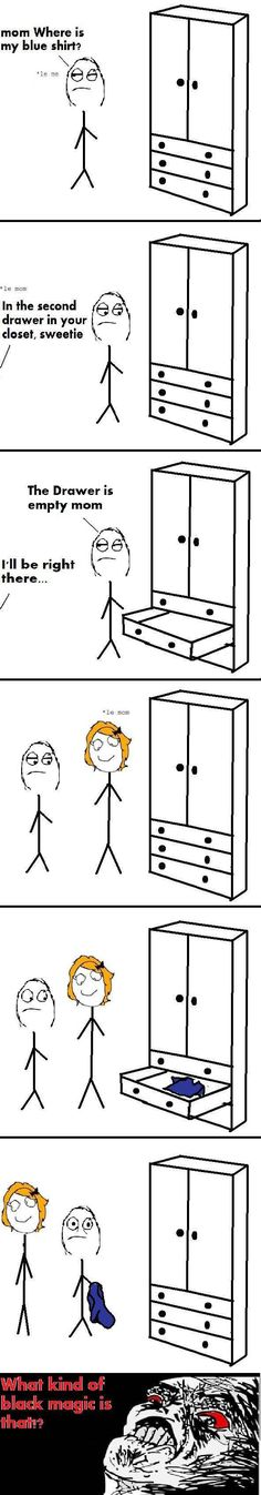 Haha!  Happens all the time