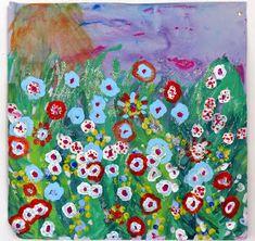 Ma petite maternelle: Marché aux fleurs