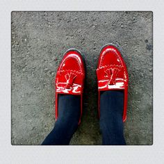 red shoes  beline