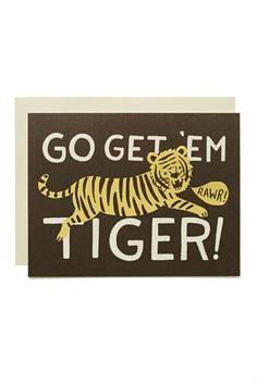 Rifle Paper Co. Go Get 'Em Tiger Card