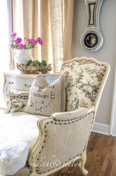 Why You Should Give That Ugly French Chair A Second Look