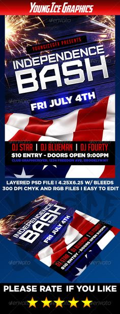 Independence Bash Flyer