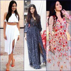 The stunning & beautiful Katrina Kaif flaunts everyone with her Style!!