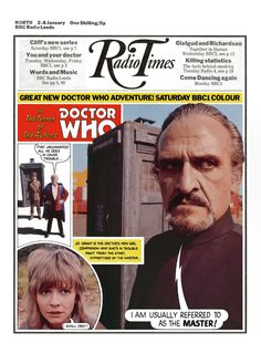 Radio Times Cover 1971-01-02 Doctor Who