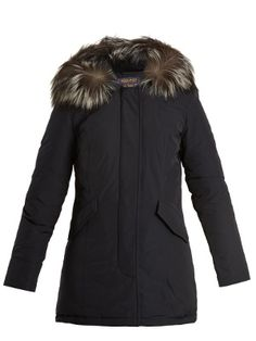 Woolrich John Rich & Bros. Luxury Arctic fur-trimmed down parka